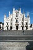 Duomo van Milaan Stock Fotografie