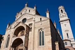 Duomo in Verona Stockfoto