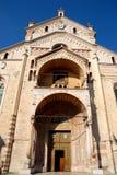 Duomo of Verona and blue sky Royalty Free Stock Image
