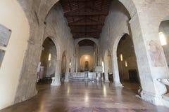 Duomo von Barga Stockfotografie
