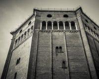 Duomo von Cremona-Baptistery Lizenzfreie Stockfotografie