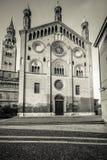 Duomo von Cremona-Südfassade Stockbilder