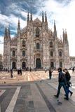 Duomo von Mailand, Italien. Lizenzfreies Stockfoto