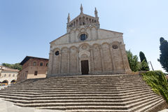 Duomo von Massa Marittima stockbild