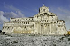 Duomo w Piazza dei Miracoli, Pisa Obrazy Stock