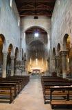 Duomobinnenland van Carrara royalty-vrije stock foto's