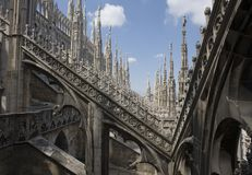 Duomodi Mailand Stockbild