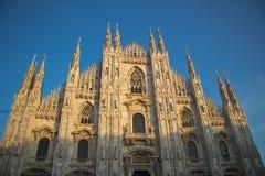 Duomodi Milaan Stock Afbeelding