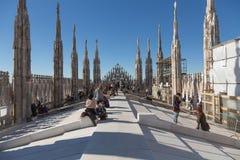 Duomodi Milano Royaltyfri Foto