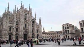 Duomodi Milano, domkyrka av Kristi födelsen av den jungfruliga Maryen Milan Italien royaltyfri illustrationer
