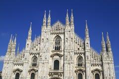 Duomodi milano, milan domkyrka Fotografering för Bildbyråer
