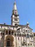 Duomodi Modena (Italia) Arkivbilder