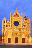 Duomodi Siena Stockfoto
