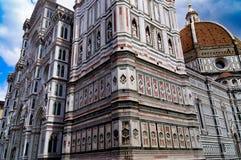DuomodiFirenze domkyrka Florence Fotografering för Bildbyråer