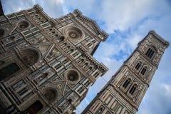 Duomodomkyrka i Florence, Italien Royaltyfri Fotografi