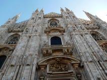 Duomodomkyrka, Milan, Italien Fotografering för Bildbyråer