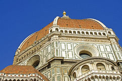 Duomoen, Florence (Italien) Royaltyfria Foton