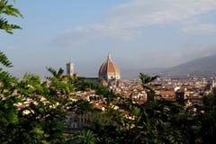 Duomoen, Florence, Italien Royaltyfri Fotografi
