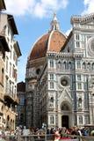 Duomoen, Santa Maria del Fiore Cathedral Fotografering för Bildbyråer