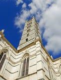 Duomoen, Siena (Italien) Arkivfoton