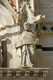 Duomoen, Siena (Italien) Royaltyfri Fotografi
