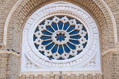 Duomokathedraal van Cerignola. Puglia. Italië. stock foto