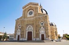 Duomokathedraal van Cerignola. Puglia. Italië. Stock Afbeeldingen