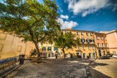 Duomoquadrat in Sassari Stockbild