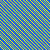 Duotone Diagonal shapes background, pattern: Smooth blue-yellow Royalty Free Stock Images