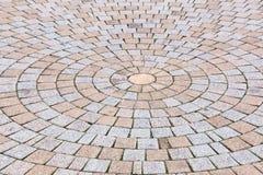 Duotone Gelb und Gray Brick Stone aus den Grund für Straße Roa lizenzfreie stockfotografie