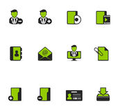 Duotone Icons - Group Collaboration Stock Photography