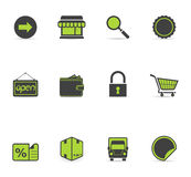 Duotone Icons - More Ecommerce Royalty Free Stock Image