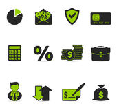 Duotone Icons - More Finance. Finance icon series in duotone color. EPS 10 with transparency & transparent shadows placed on layer beneath Stock Image