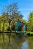 Duplex des hortillonnages d'Amiens dans Picardie Image libre de droits