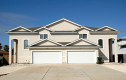 Duplex house Royalty Free Stock Photography