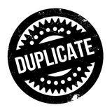 Duplicate rubber stamp Royalty Free Stock Photos