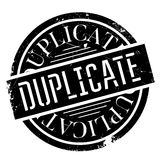 Duplicate rubber stamp Stock Photos