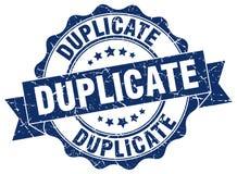 Duplicate stamp Stock Photo