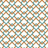 Dupliceer de textuur van lijnen en vierkanten Royalty-vrije Stock Afbeeldingen