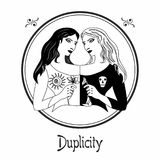 The duplicity sin Royalty Free Stock Photography
