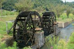 Duplikata waterwheel Zdjęcia Stock