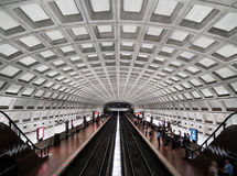 Dupont Circle metro station interior. Washington DC Dupont Circle metro station Stock Photos