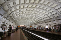 Dupont Circle Metro Stop. Photo of dupont circle metro stop in washington dc on 6/7/14. This station features beautiful architecture stock photography