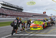 DuPont Pit Stop NASCAR Sprint Cup Series Stock Image