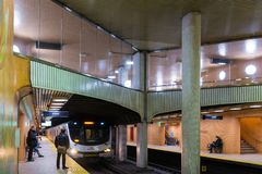 Dupont Station in Toronto, Canada royalty free stock photography