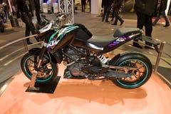 Duque 125 velomotor de KTM Imagem de Stock