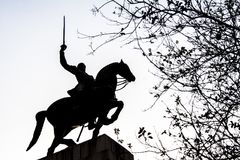 Duque de Caxias Памятник стоковое изображение