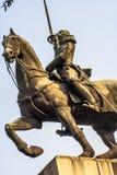 Duque de Caxias Monument fotografia stock libera da diritti