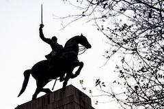 Duque de Caxias Monument Photos stock