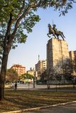 Duque de Caxias Monumento fotografia de stock